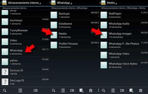 ver imagenes ocultas android oculta las im 225 genes recibidas con whatsapp en tu android