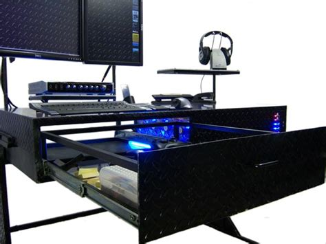 Computer Desk Mod by The Desk Pc Mod