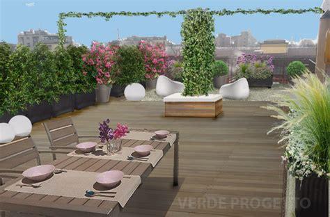 progetto terrazzo verde progetto il terrazzo sui cieli di