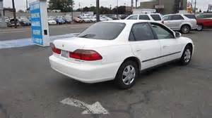 1999 honda accord white stock 11256