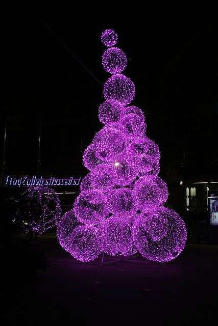 purple things christmas lights in turin