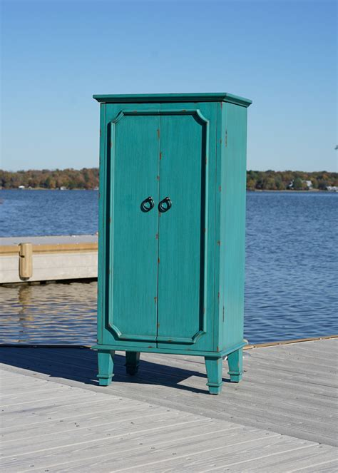 cabby jewelry armoire cabby jewelry armoire rustic turquoise hives and honey