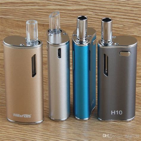 Ce3 Atomizer 0 8ml Untuk Mod H10 100 original newest hibron e cigs h10 ce3 glass atomizer vape box mod kit cbd bud with