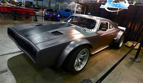 fast and furious 8 dodge charger dom s insane dodge ice charger for fast 8 sounds menacing