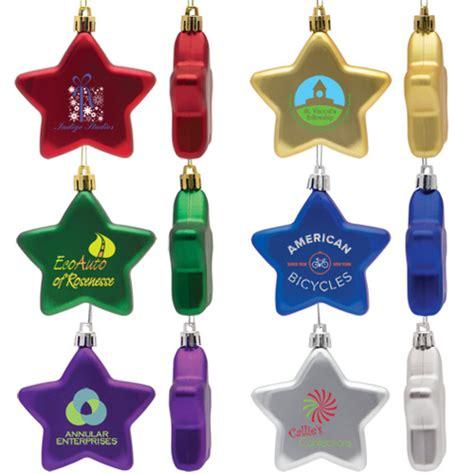 shatter resistant star ornament promotional shatter