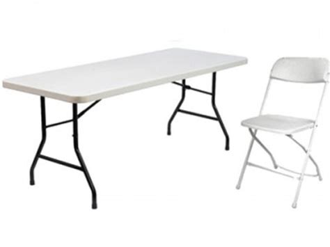 table chair rental carnival rental ca
