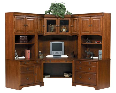 Modular Desks For Home Office Americana Home Office Modular Corner Desk 3638 Traditional Furniture Traditional Furniture