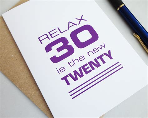Birthday Card 30 Year How To Be Conscious 30 Year Old 1mhowto Com