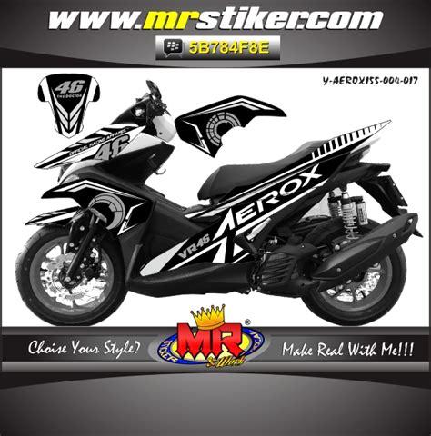 aerox 155 vr46 stiker motor striping motor suka suka decal motor mr stiker