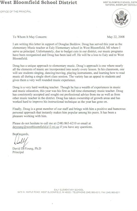 Recommendation Letter For Post Recommendation Letter For Templates Free Printable