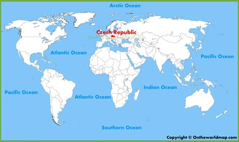 republic on a world map republic location on the world map