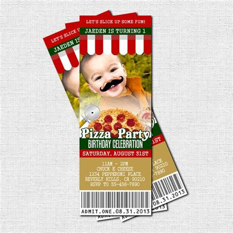 printable pizza tickets 14 best images about pizza fundraiser on pinterest