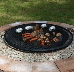 Firepit Grate Pit Cooking Grill Outdoor Firepit Mesh Grate Black Cfire 7 Sizes Ebay