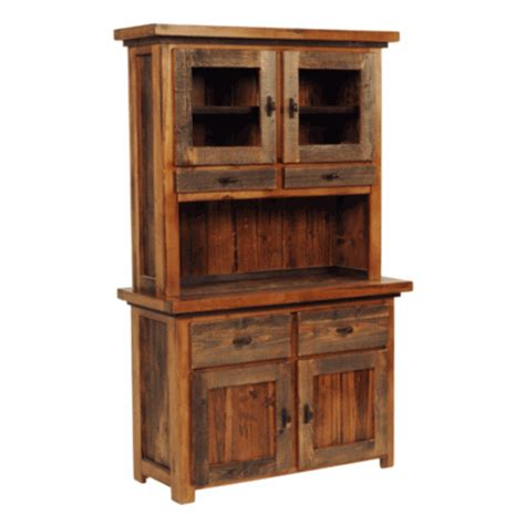 kitchen wooden furniture wyoming reclaimed wood buffet hutch