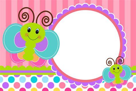 Imagenes De Invitaciones Mariposas | divertida mariposa invitaci 243 n y cajas para imprimir