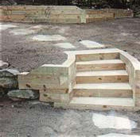 build  timber retaining wall