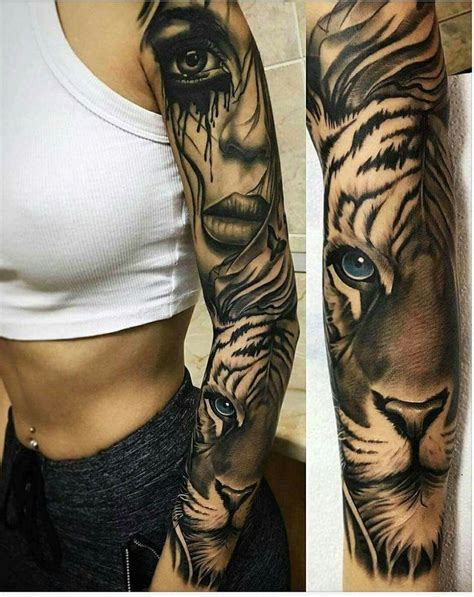 tiger arm tattoos designs best 25 leg sleeve tattoos ideas on