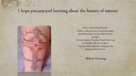 tattoo history ppt tattoo project ppt