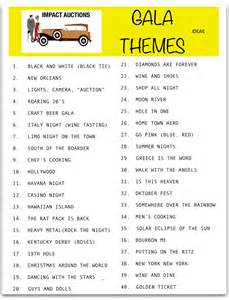 Event Theme Ideas popular fundraising theme ideas for charity events