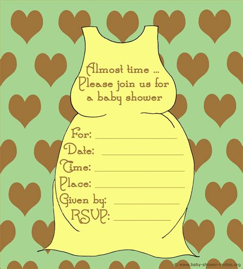 free baby templates free baby shower invitation templates free baby shower