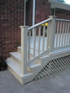 Pvc Stair Railings lxt vinyl railing digger specialties inc