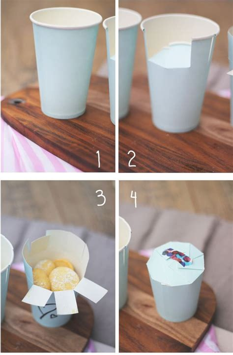 Craft Using Paper Cups - mara s paper cup packaging gift wrap packaging