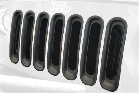 rugged ridge black grille inserts rugged ridge 11306 30 black grille insert buy in uae automotive products in the uae