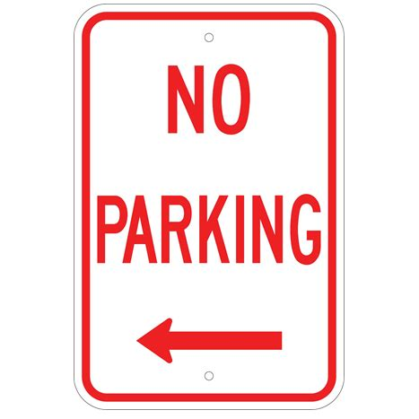 No Parking Signs U S Signs And Safety No Parking Template Word