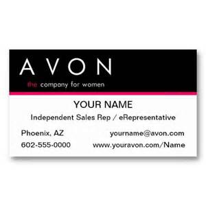sle business cards templates free 17 best avon business cards templates images on
