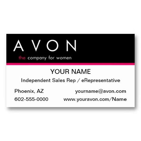 Sales Business Card Templates by 17 Best Avon Business Cards Templates Images On