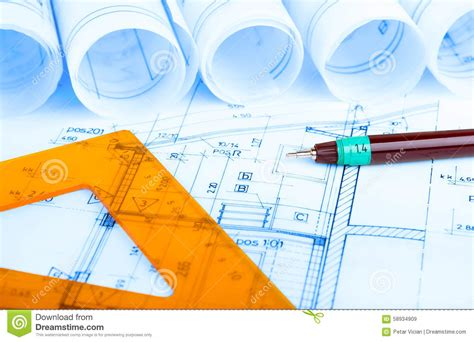 free architectural house plans architectural house plans blueprints architect royalty free stock luxamcc