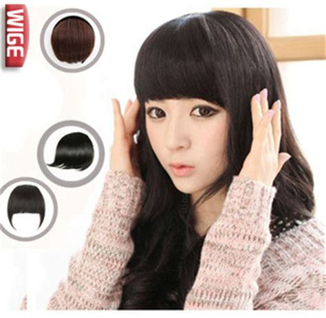 invisable hair extension band fake fringe wig piece female anode screening hair bands