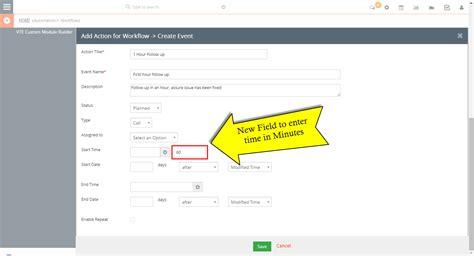 vtiger workflow vtiger experts vtiger 7 workflow customization set