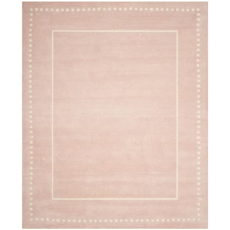 Light Pink Area Rugs Safavieh Light Pink Ivory 8 Ft X 10 Ft Area Rug Bel151m 8 The Home Depot