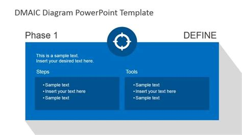 define template in powerpoint dmaic process powerpoint template