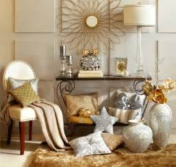 Silver and gold decor mix metallic home decor december s color of