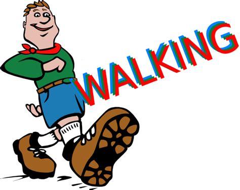walking clip at clker vector clip