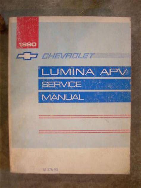 how to download repair manuals 1993 chevrolet apv free book repair manuals find 1990 90 chevy chevrolet lumina apv van service shop repair book manual motorcycle in holts