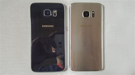 Samsung S6 S7 test comparatif samsung galaxy s7 vs galaxy s6 androidpit