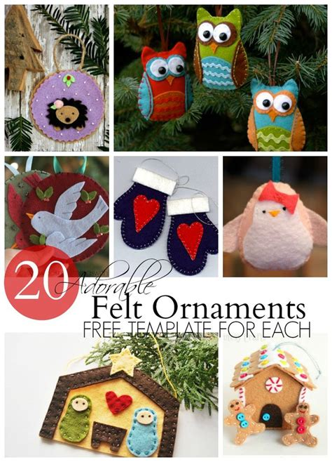 felt decorations templates 25 best ideas about felt ornaments patterns on
