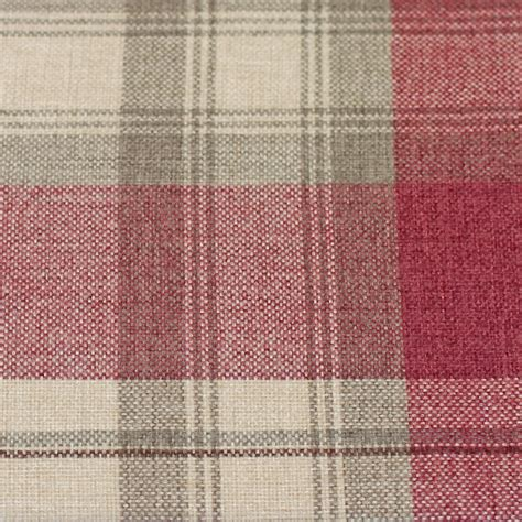 tartan curtains warm cosy rustic tartan check lined eyelet curtains
