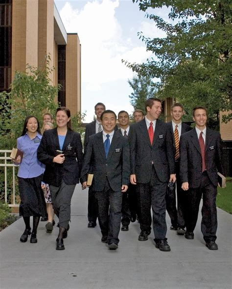 lds church missionaries