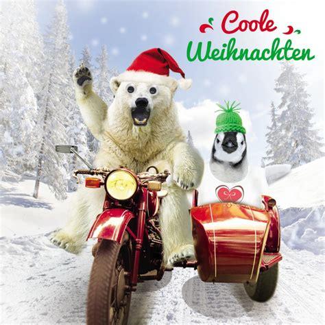Motorrad Weihnachten Bilder by Weihnachten Humor Gru 223 Karte Googlies Wackelaugen Motorrad