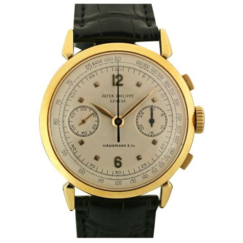 patek philippe 232 ve chronograph ref 1579 swiss 1950s