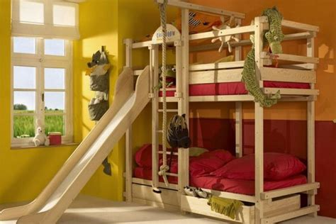 kids loft bed with slide different colours to use in your child s room d 233 cor