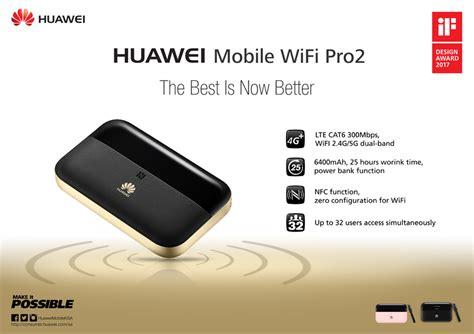 Wifi Mobile Huawei E5885 Mobile Wifi Pro 2 Lte Cat 6 Pocket Router