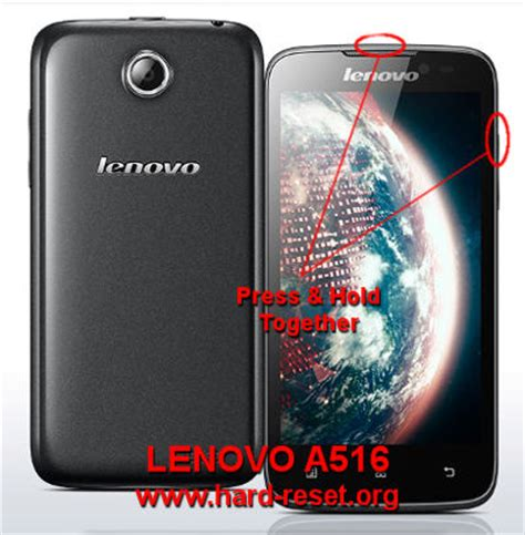 factory reset lenovo how to easily master format lenovo a516 with safety hard