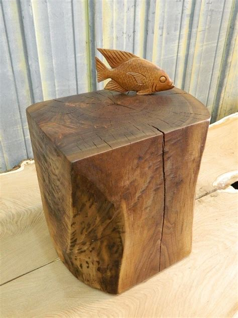 Dining Room Ideas For Apartments by Natural Tree Stump Side Table Brings Nature Fragment Into