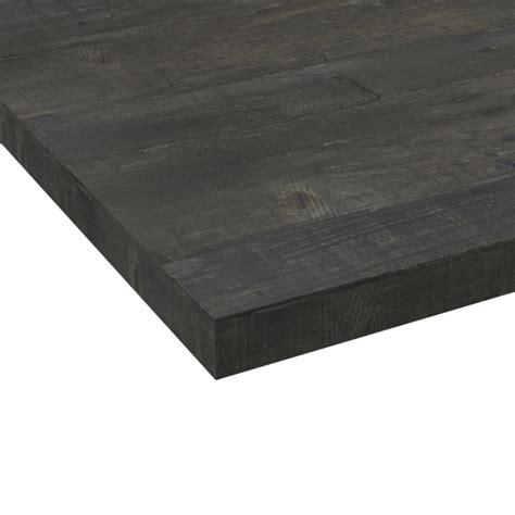 plan de travail effet béton 2178 cuisine gris mat et plan de travail bois