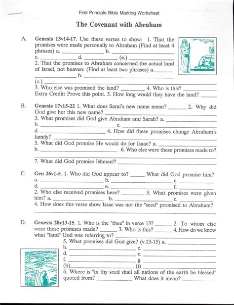 Bible Worksheets by Detroit Christadelphian Book Supply